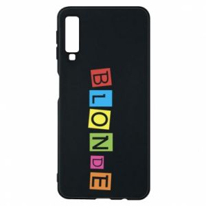 Phone case for Samsung A7 2018 Blonde
