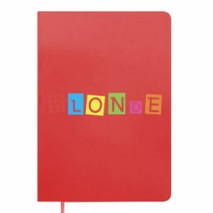 Notepad Blonde
