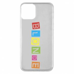 Phone case for iPhone 11 Blonde