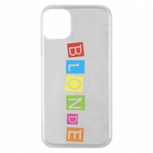 Phone case for iPhone 11 Pro Blonde