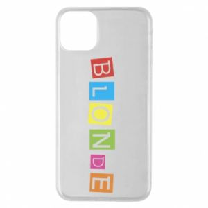Phone case for iPhone 11 Pro Max Blonde