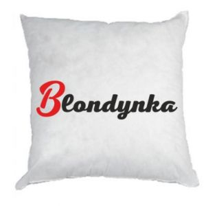 Poduszka Blondynka