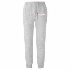 Spodnie lekkie męskie Blondynka