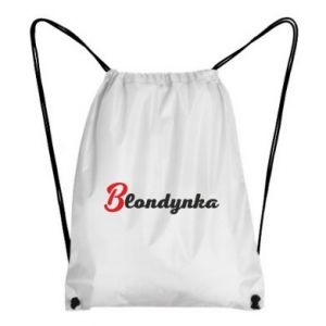 Plecak-worek Blondynka
