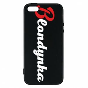 Phone case for iPhone 5/5S/SE Inscription: Blonde