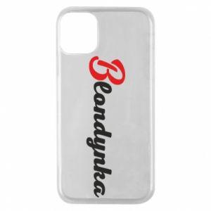 Etui na iPhone 11 Pro Blondynka