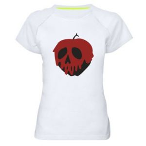 Damska koszulka sportowa Bloody apple