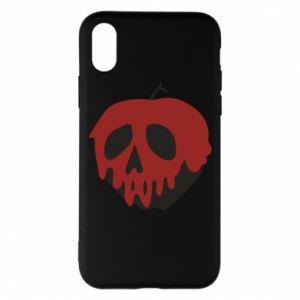 Etui na iPhone X/Xs Bloody apple