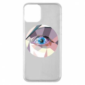 Etui na iPhone 11 Blue eye