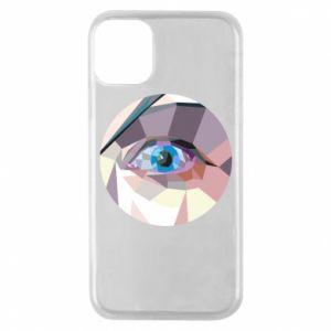 Etui na iPhone 11 Pro Blue eye