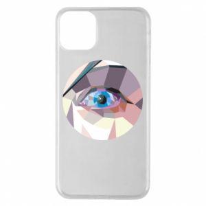 Phone case for iPhone 11 Pro Max Blue eye - PrintSalon