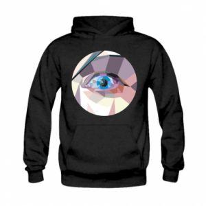 Bluza z kapturem dziecięca Blue eye