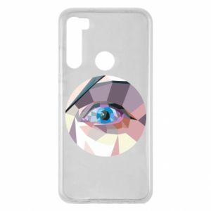 Etui na Xiaomi Redmi Note 8 Blue eye