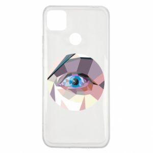 Etui na Xiaomi Redmi 9c Blue eye