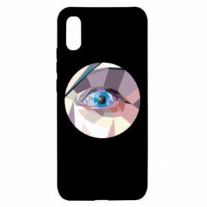 Etui na Xiaomi Redmi 9a Blue eye