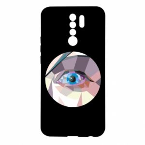 Etui na Xiaomi Redmi 9 Blue eye
