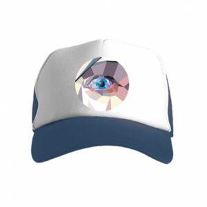 Czapka trucker dziecięca Blue eye