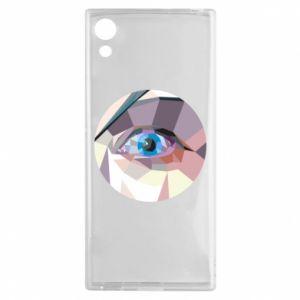 Etui na Sony Xperia XA1 Blue eye