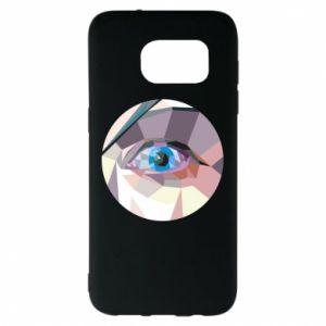 Etui na Samsung S7 EDGE Blue eye