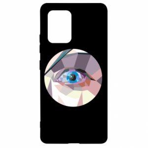 Etui na Samsung S10 Lite Blue eye