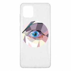 Etui na Samsung Note 10 Lite Blue eye