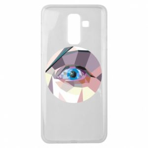 Etui na Samsung J8 2018 Blue eye