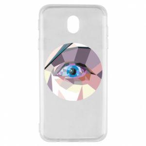 Etui na Samsung J7 2017 Blue eye