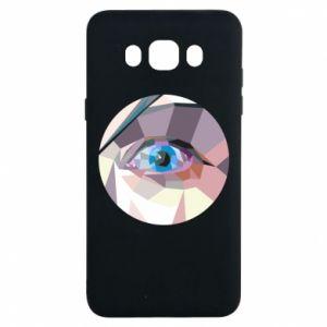 Etui na Samsung J7 2016 Blue eye
