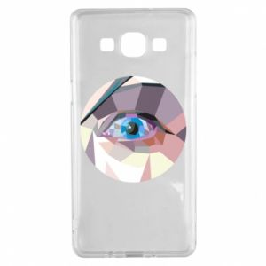 Etui na Samsung A5 2015 Blue eye