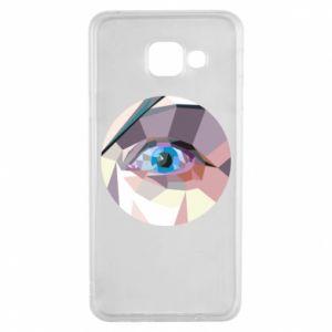 Etui na Samsung A3 2016 Blue eye