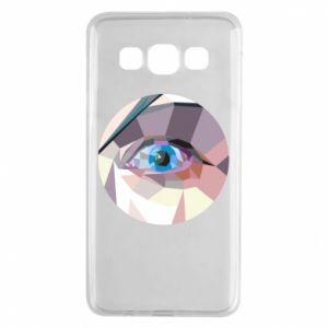 Etui na Samsung A3 2015 Blue eye