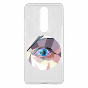 Etui na Nokia 5.1 Plus Blue eye