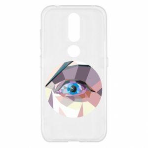 Etui na Nokia 4.2 Blue eye