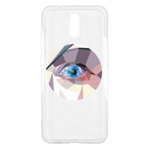Etui na Nokia 2.3 Blue eye