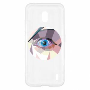 Etui na Nokia 2.2 Blue eye