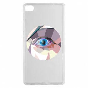 Etui na Huawei P8 Blue eye
