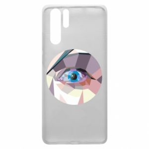 Etui na Huawei P30 Pro Blue eye