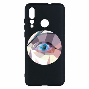 Etui na Huawei Nova 4 Blue eye
