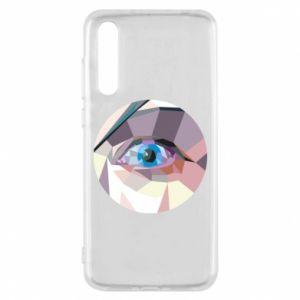 Etui na Huawei P20 Pro Blue eye