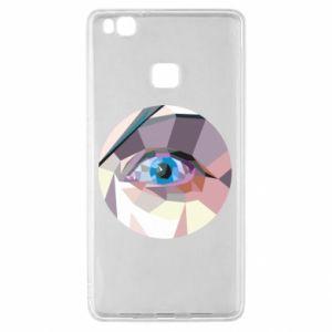 Etui na Huawei P9 Lite Blue eye