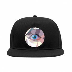 SnapBack Blue eye - PrintSalon
