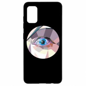 Etui na Samsung A41 Blue eye