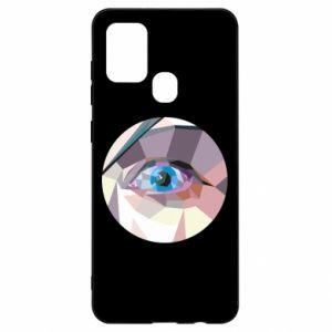 Etui na Samsung A21s Blue eye