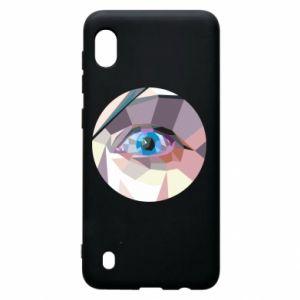 Etui na Samsung A10 Blue eye