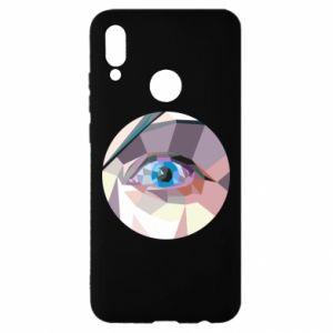 Etui na Huawei P Smart 2019 Blue eye