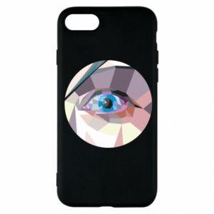 Etui na iPhone SE 2020 Blue eye