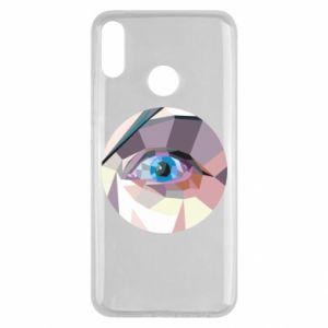 Etui na Huawei Y9 2019 Blue eye