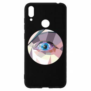 Etui na Huawei Y7 2019 Blue eye