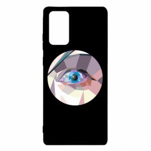 Etui na Samsung Note 20 Blue eye
