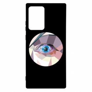 Etui na Samsung Note 20 Ultra Blue eye